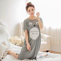 my neighbor Totoro Loungewear nightwear summer T Shirt Short Sleeve Tees Tops Tshirt #Fashion #Tees