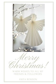 Wishing you and your loved ones a wonderful holiday season!  Anita xoxo