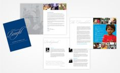 Event Program Idea Patrick M. Design - Print | Identity | Web