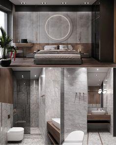 Highlights project e-house design interior on Behance Modern Luxury Bedroom, Master Bedroom Interior, Modern Bedroom Design, Master Bedroom Design, Luxurious Bedrooms, Modern House Design, Bathroom Interior Design, Studio Interior, Apartment Interior
