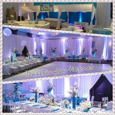 Get Dazzled with Dazzling Parties! South Beach themed Mitzvah