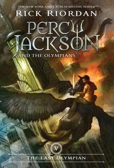 The Last Olympian (Percy Jackson and the Olympians #5) by Rick Riordan