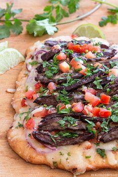 Carne+Asada+Pizza