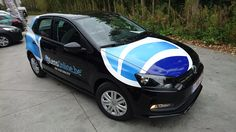 Commercial Fleet Vehicle Signage, Van signwriting, van signage for LensOnline - printed vinyl
