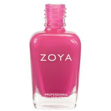 Zoya Nail Polish in Whitney - Smooth, saturated purple-toned cool pink creme