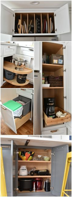 Can t reach the items you ve stored in your upper kitchen for Kraftmaid closet systems