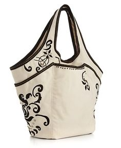 Lucky Brand Jeans Lucky Off Shore Embroidered Tote UNDER 100 Handbags Accessories Macy s - Stylehive