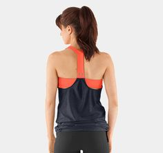 Women's UA Studio Rave N Flow Tank. need!