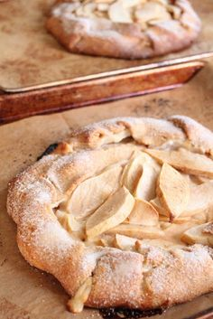 Eat Good 4 Life » Rustic Apple Danish Crostata
