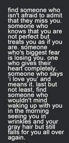 Find someone who...    love quote, #love #quote