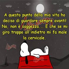 L'importanza di non avere dubbi .The importance of not having doubts Sarcastic Quotes, Funny Quotes, Charlie Brown, Vignettes, Decir No, Favorite Quotes, Quotations, Hilarious, Thoughts