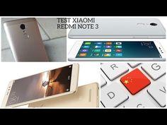 TEST XIAOMI REDMI NOTE 3 - YouTube