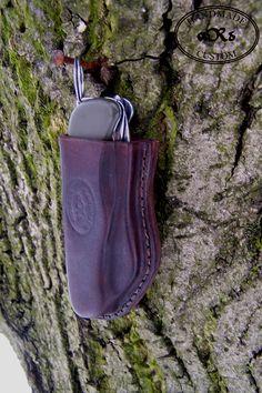 Victorinox 2009 Soldier Knife Bundeswehr Version leather sheath.
