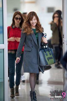 Tiffany Hwang Airport Fashion