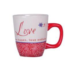 Emotion Mugs - Love Rs. 349.00   Message on the Mug: Love lifts, Love believes, Love hopes, Love endures