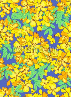 Blooming Sunshine Tree - Delicate blossoms embellish a network of branches. Tree Patterns, Floral Patterns, Textile Patterns, Print Patterns, Textiles, Pattern Designs, Vector Pattern, Tree Designs, Repeating Patterns