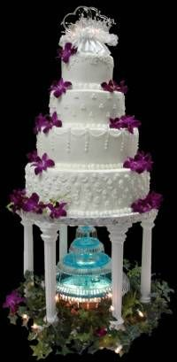 Water Fountain Wedding Cakes The Specialists
