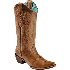 Women's Vintage Leather Cowgirl Boot Snip Toe ** You can get more details by clicking on the image. (This is an affiliate link and I receive a commission for the sales) #MidCalf