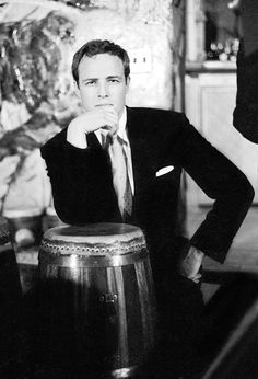 marlon brando so handsome in youth even if he always sounded as if he had marbles in his mouth