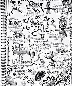 julie hamilton designs-art journal page @Julie Hamilton #makeartthatsells