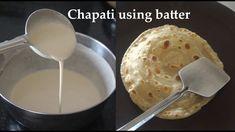 Holige Recipe, Roti Recipe, Batter Recipe, Dough Recipe, Christmas Tree Pattern, Chapati, Crepes, Oatmeal, Rolls