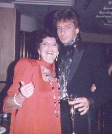 Edna Manilow and her son Barry Manilow.