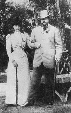 Tsar Alexander III and Tsarina Maria Feodorovna - Minnie and Sasha