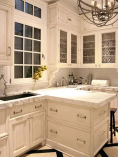 Inspired Examples of Marble Kitchen Countertops | Kitchen Designs - Choose Kitchen Layouts & Remodeling Materials | HGTV