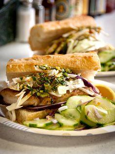 #Vietnamese #Bluefish #Sandwich