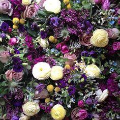 Florals purple Firefly Events @ffireflyevents Instagram photos