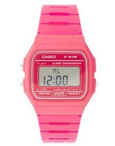 pink #casio watch.