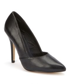 Love this Black Smooth Vibe Pump by Bellini on #zulily! #zulilyfinds