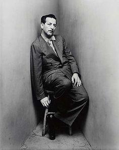 Gilbert Adrian corner portrait by Irving Penn