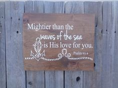 Mightier Than The Waves Of The Sea Is His Love by DistressedLuv