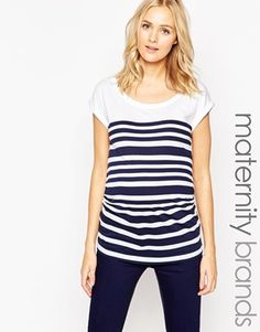 New Look Maternity Stripe Tee