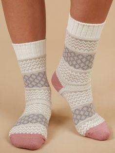 Crochet Socks, Knitted Slippers, Wool Socks, Knitting Socks, Men In Heels, Argyle Socks, Cute Socks, Knitting Projects, Cloud Dancer