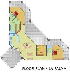 La Palma - Floor Plan