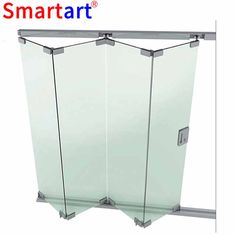 Cheap Interior Bifold Door For Villa Worksheets Glass Partition Wall, Glass Curtain Wall, Glass Shower Doors, Sliding Glass Door, Stairs Canopy, Stainless Steel Brackets, Movable Walls, Window Accessories, Glass Stairs