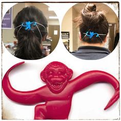 The child-life specialists at Hospital used my grandfather's invention to invent an uplifting way of protecting their ears… Barrel Of Monkeys, Child Life Specialist, Classic Looks, Inventions, Ears, Classy Looks