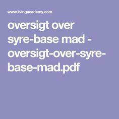 oversigt over syre-base mad - oversigt-over-syre-base-mad.pdf
