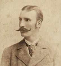 Dragutin Lerman (1863-1918) Croatian explorer. He was a member of the 1882 Henry Morton Stanley expedition to Congo & was one of Stanley's most trusted men. Later, he was the confidant of Léopold II, King of the Belgians & the very representative of the Belgian government in the Congo. His 1st exploration trip lasted 1882-85, the 2nd 1888-90, & the 3rd 1892-94. The 4th lasted six months during 1896. During the journey through Congo in 1882, he discovered huge waterfalls on the Kouilou River