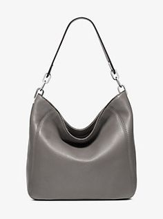 Fulton Medium Leather Shoulder Bag by Michael Kors