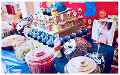 cookie monster party :)