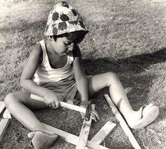 Israel Amiram Young Boy Study Old Maziere Photo 1965
