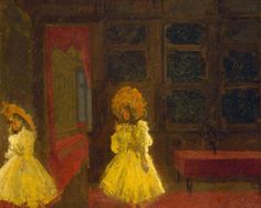 The Sisters Lloydby Walter Richard Sickert Government Art CollectionDate painted: 1888–1889