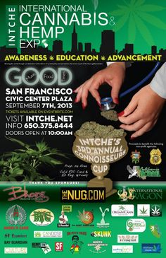 """Several thousand California medical marijuana patients and their allies are expected to flock to San Francisco's Civic Center Plaza Sept. 7 for an unprecedented Hemp Expo in front of City Hall.  The city-permitted International Cannabis and Hemp Expo will take over Civic Center Plaza next Saturday and field a $20 expo featuring more than 100 vendors, as well as a """"Prop 215 area"""" where patients can eat edibles, vaporize the plant, as well as join S.F. collectives."""
