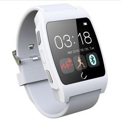 Hot sale U Watch UX Bluetooth Sport Smart Watch Messages Calls Reminder Heart Rate Anti-lost Remote Control Pedometer For phone