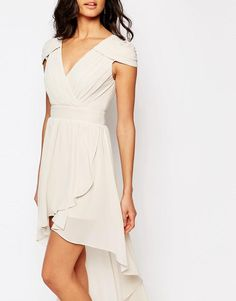 TFNC | TFNC WEDDING High Low Cold Shoulder Dress at ASOS