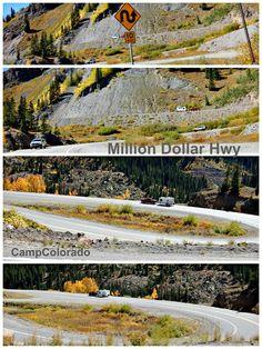 Million Dollar HWY From Ouray to Silverton &  Durango, Colorado