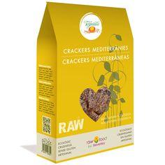 Crackers Mediterráneas - Raw Food www.rawfooddietforlife.com